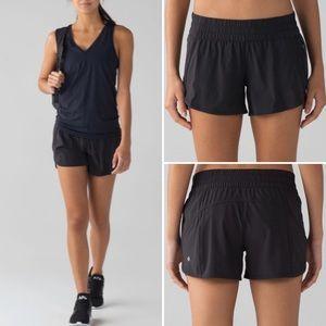 Lululemon Tracker Running Athletic Short 10 Black